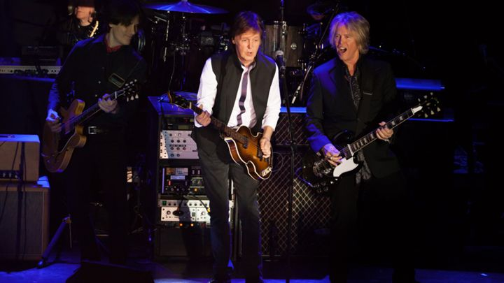 Paul McCartney performs at Irving Plaza on February 14, 2015 in New York City. Photo by Anthony Cruz.